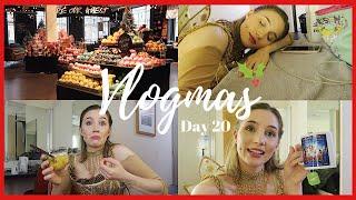 LAST MINUTE SHOPPING, LUSH & RELAXED PERFORMANCE | Vlogmas Day 20 | Georgie Ashford