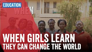 When girls learn they can change the world!