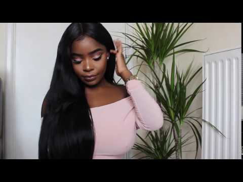 HOW TO LOOK LIKE A BLACK BOMBSHELL!  Ali Anabelle Hair Review clip