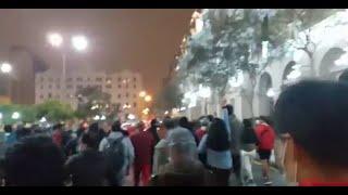 El comunismo inicia protestas en Lima contra los resultados de la elección presidencial
