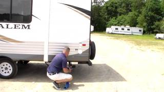 How To Set Up A Trailer At A Campsite