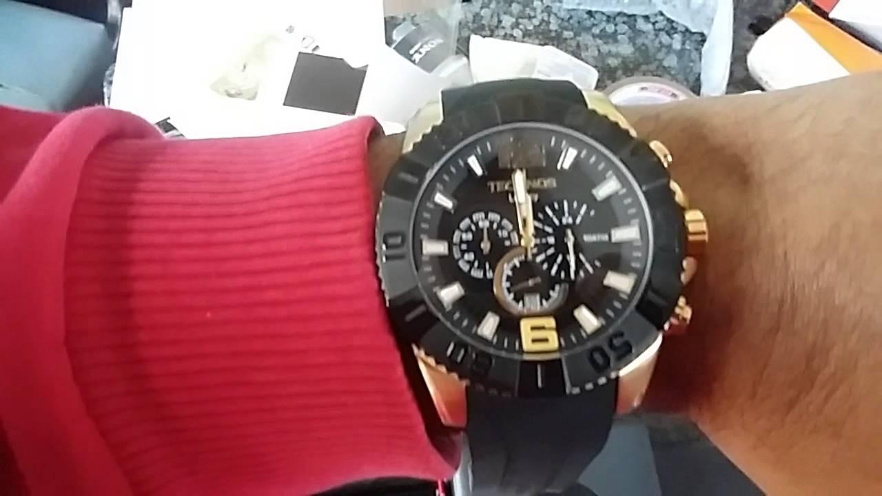 318cce50578 Relógio Masculino Technos OS20IO 8P Classic Legacy - YouTube