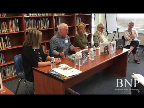 Writers panel visits Jane Macon Middle School