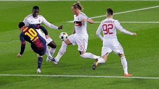 Lionel Messi ● Goal Vs Milan 2013(THANK YOU SO MUCH! Please Subscribe, like and Share video. Follow Me On Facebook..., 2015-07-23T14:23:19.000Z)