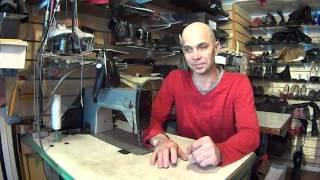 Видео уроки по ремонту обуви, и изделий из кожи.
