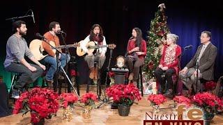 Entrevista Nuestra Fe en Vivo - Familia Olguín (Valivan) - Navidad