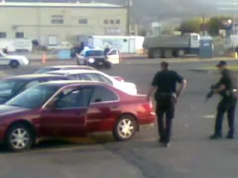 Dollar Tree Parking Lot, Helena, Montana