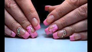 Дизайн ногтей лепка 4d гель | ТОП удивителные дизайны ногтей | Nail design modeling 4d gel