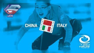 HIGHLIGHTS: China v Italy - Women's Qualification Game - Olympic Qualification Event 2017
