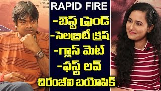 Harish Shankar Superb Answers in Rapid fire with Anchor Ramya | Friday poster
