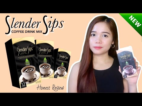 SLENDER SIPS COFFEE DRINK MIX REVIEW (RD HEALTHY LIVING)    12 DAYS CHALLENGE!!