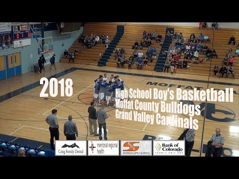2018 Moffat County High School Boy's Basketball - HD