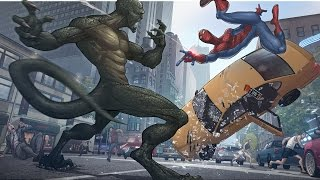Spider Man vs  Rhino Ending  - The Amazing Spider Man 2 2014 - Real Life Spiderman Movie