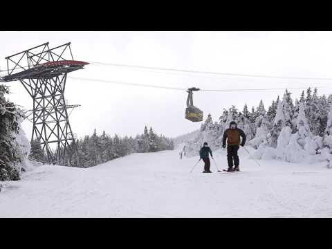 DAYS OF CANNON- The Best Resort Ski Terrain On The East?