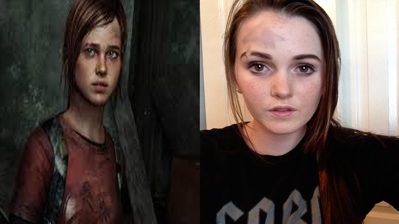 Ellie From The Last Of Us Hair And Makeup Youtube