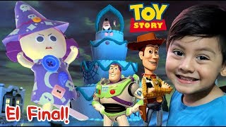 Toy Story Final | Woody y Buzz Lightyear vs La Bruja | Juego para niños de Disney