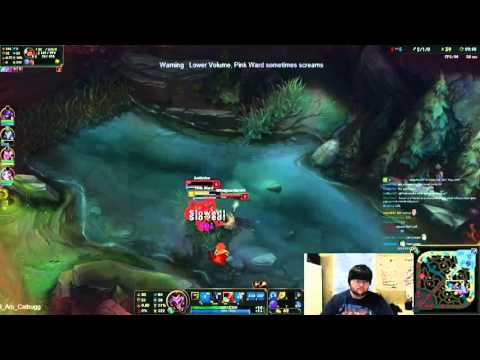 Playing around the Map - Ap Shaco vs Shen Full Game #16