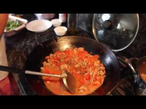 Stir Fry Pork With Tomato