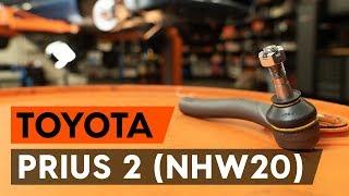 Ako vymeniť Čap riadenia TOYOTA PRIUS Hatchback (NHW20_) - online zadarmo video
