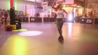 Фигурное катание на роликах. Figure skating