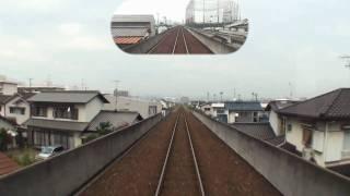 【前面展望】 水島臨海鉄道 水島本線 水島→倉敷市