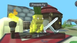 Показываю все 3 деревни персонажей в гибрид животных