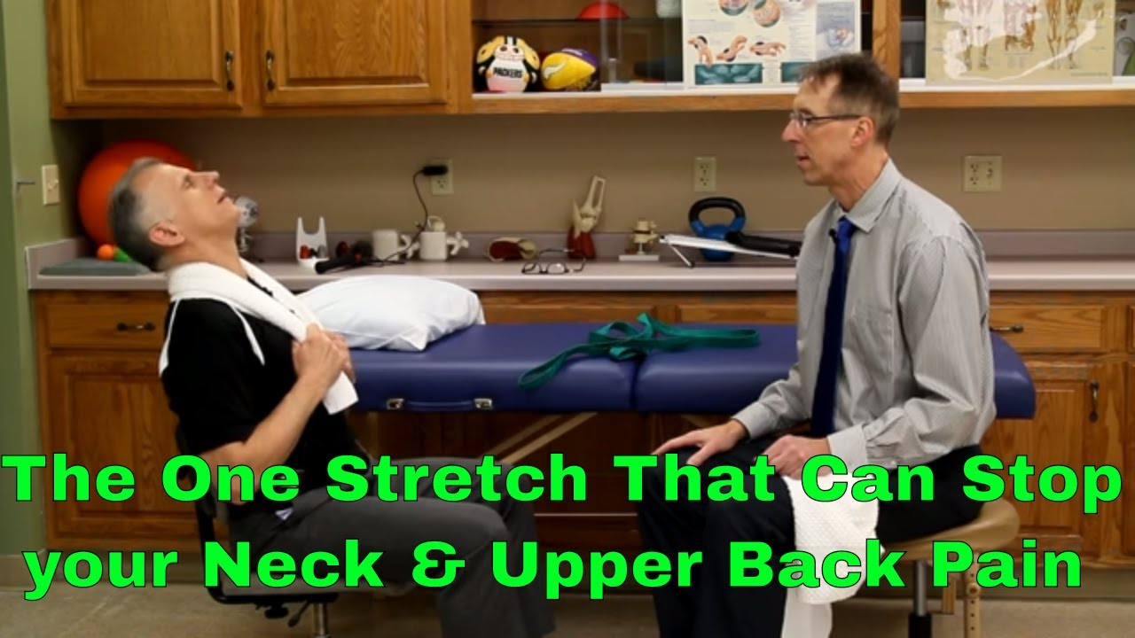Download The One Stretch That Can Stop Your Neck, Upper Back, & Shoulder Pain