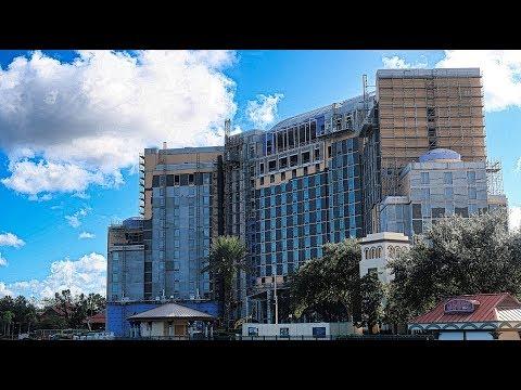 Disney's Coronado Springs Resort Construction Update 9/30/2018