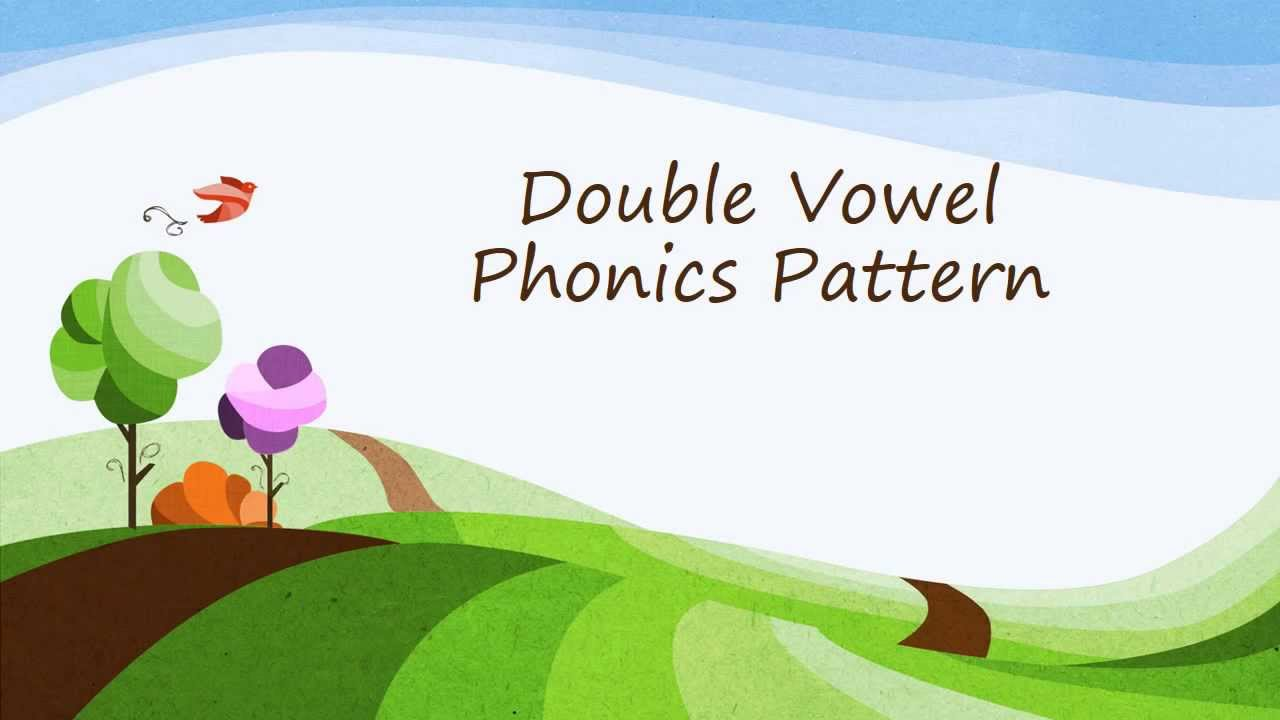 hight resolution of Double Vowel Phonics Pattern ai