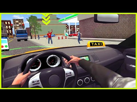 City Taxi Driving simulator: online Cab Games 2020 Android Gameplay Walkthrough - 동영상