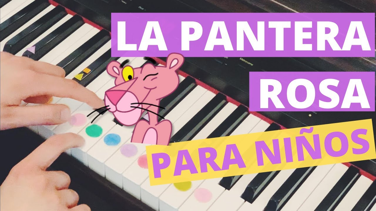 Como Tocar La Pantera Rosa En Piano Youtube