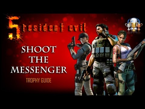 Resident Evil 5 PS4 - Shoot the Messenger Trophy Guide (Kill 3 Agitator Majini in Desperate Escape)