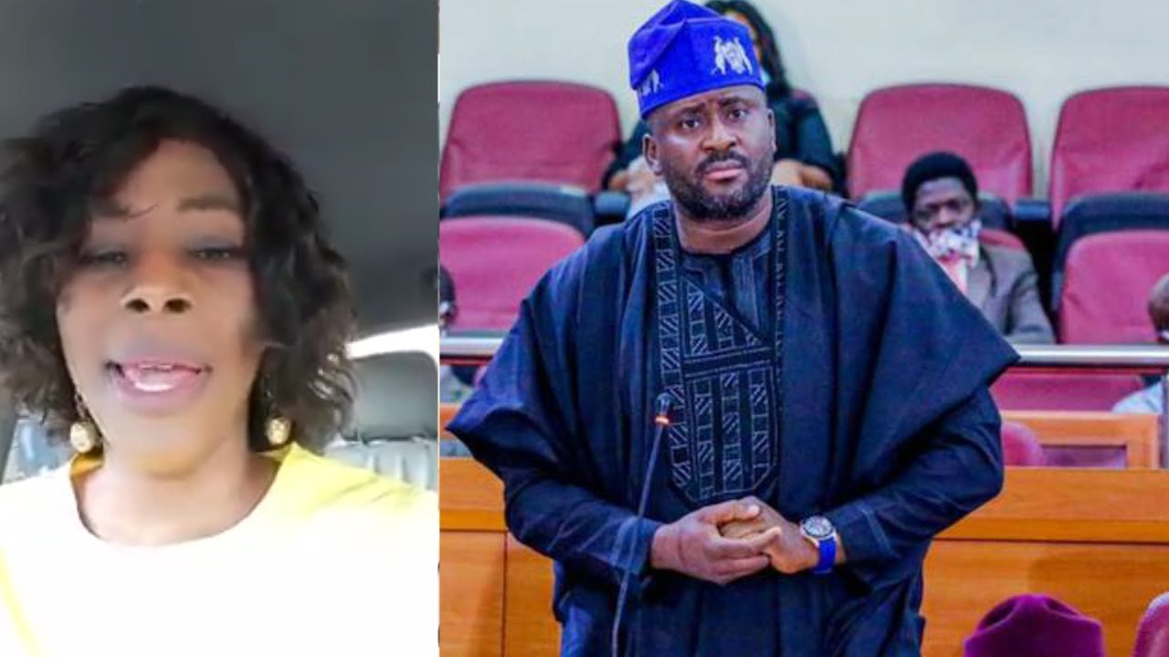NOLLYWOOD ACTRESS AISHAT LAWAL BEG NIGERIANS TO FORGIVE DESMOND ELLIOT FOR HIS SPEECH IN THE HOUSE