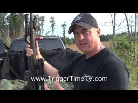 Jim Gilliland Talks About The Precision Semi Auto Rifle. Trigger Time TV