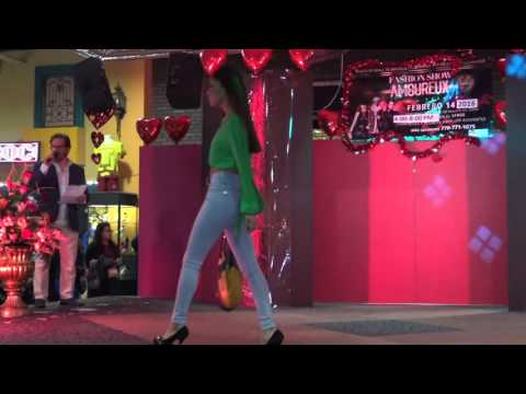 Latina Fashion Show at Santa Fe Mall Gwinett 2-14-16