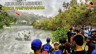 Kuasa Tuhan! Sungai di Lereng Nganjuk Tiba² Keluarkan Gelembung Mendidih & Garam // Fenomena Aneh
