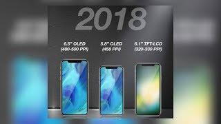 Three Full-Screen iPhones Coming in 2018?