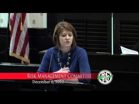 Risk Management Committee - December 6, 2012