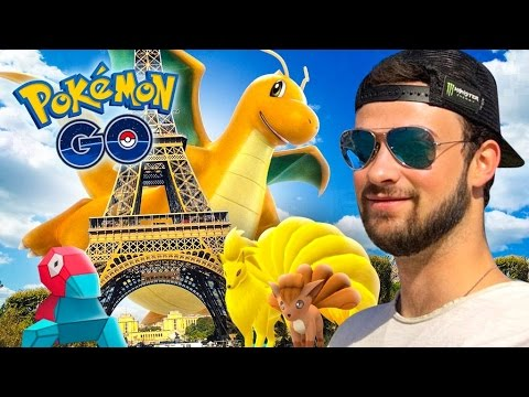 Pokemon GO - RARE POKEMON, EPIC EGGS + NEW EVOLUTIONS! (Paris Special)