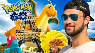 Pokemon GO - RARE POKEMON, EPIC EGGS + NEW EVOLUTIONS! (Paris Special)(Pokemon GO - RARE POKEMON HUNT IN PARIS, enjoy! :D ▻ London to Paris in just over 2 hours, tickets only £25 on Eurostar snap: http://snap.eurostar.com ..., 2016-09-25T00:00:01.000Z)