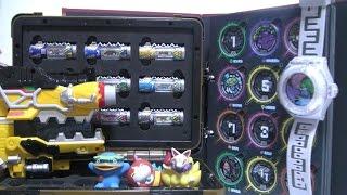 요괴워치 요괴대사전 장난감 파워레인저 다이노포스 브레이브 박스 dino charge toys