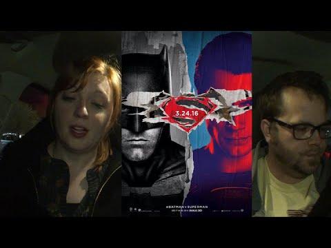 Midnight Screenings - Dave and Sarah v Batman v Superman