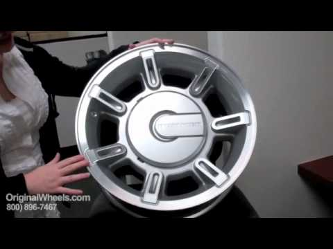 H2 Rims Amp H2 Wheels Video Of Hummer Factory Original