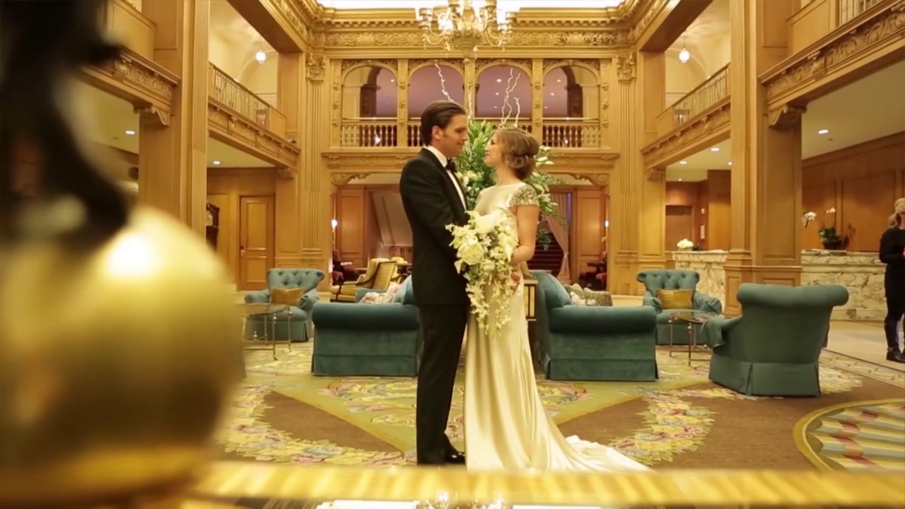 Fairmont Olympic Hotel 2017 Wedding Trends With Andrew Hoge