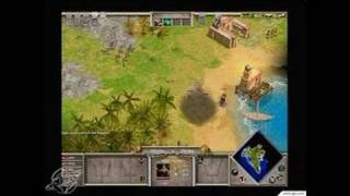 Age of Mythology PC Games Gameplay - Beginning the siege