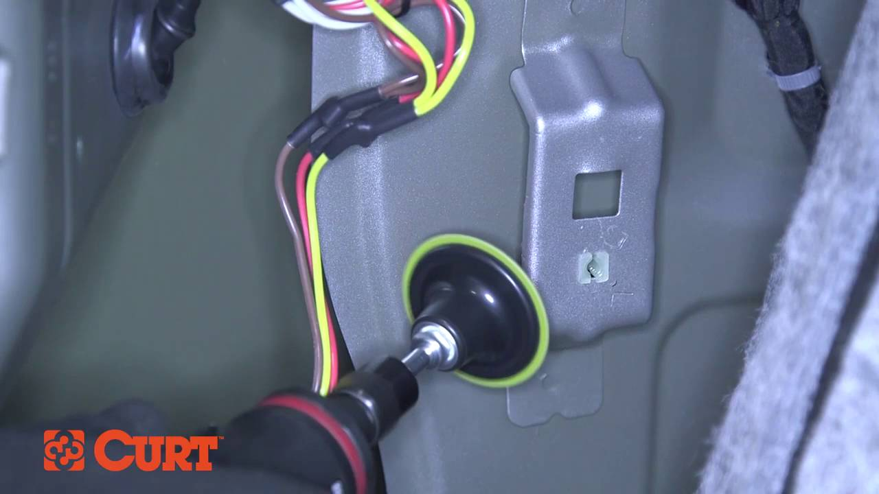 CURT 56011 Trailer Wiring Installation On a Mazda CX5