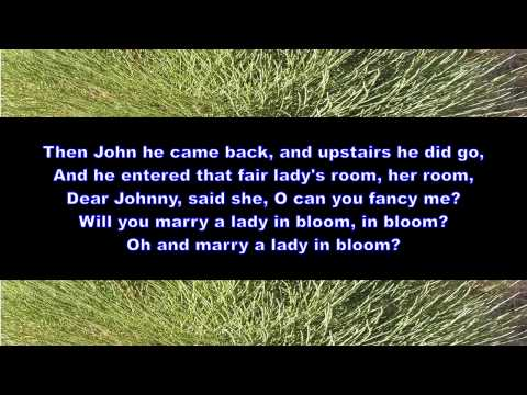Ballad of Green Broom for men's voices