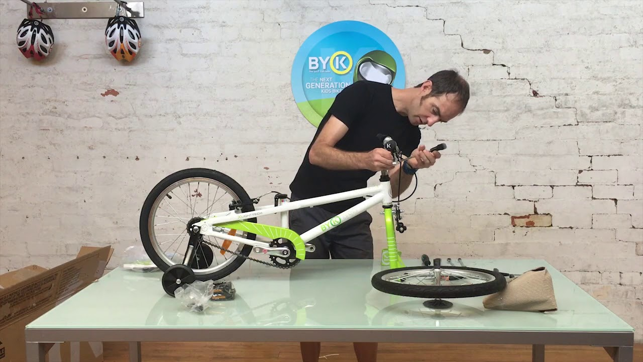 Instructions And Assembly Byk Bikes The Best Kids Bikes Read this operation manual if you use the mat with purple and turquoise, pink and turquoise or turquoise. instructions and assembly byk bikes