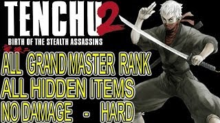 Tenchu 2 - RIKIMARU - Walkthrough 100% [1080p HD] All Grand Master Rank