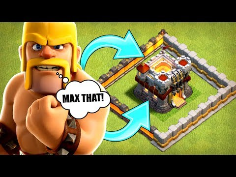 MAX THAT BASE! - ROAD TO TOWN HALL 12..................Clash Of Clans